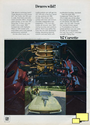 1967 Chevrolet Corvette Stingray print ad