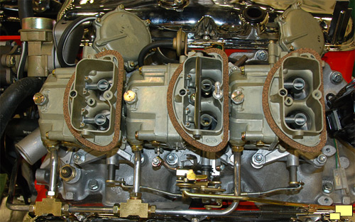 1967 427 cu in 435 hp carburetor set up