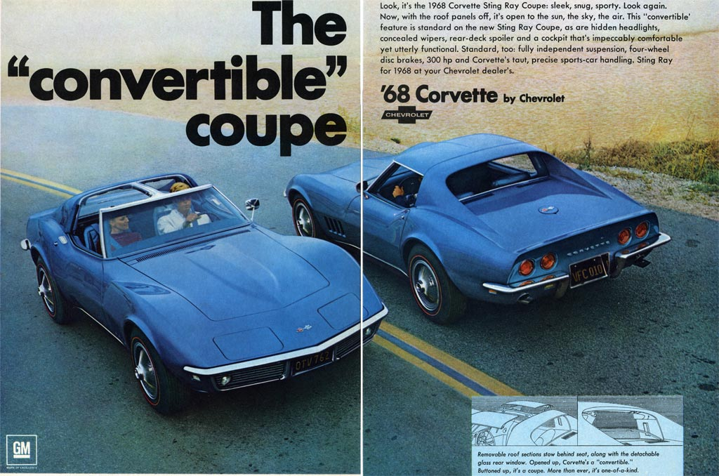 1968 corvette quality problems interior pop up headlights chassis and t tops. Black Bedroom Furniture Sets. Home Design Ideas