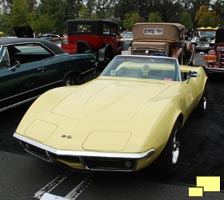 1968 Chevrolet Corvette Greystone Mansion Beverly Hills