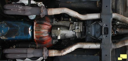 1968 Corvette Exhaust System - Before