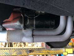 1968 Corvette Exhaust System - Header Joint, After