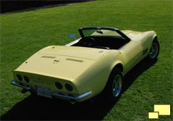 1968 Chevrolet Corvette, Safari Yellow