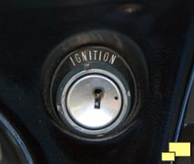 1968 Chevrolet Corvette ignition switch
