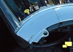 1968 Chevrolet Corvette windshield header