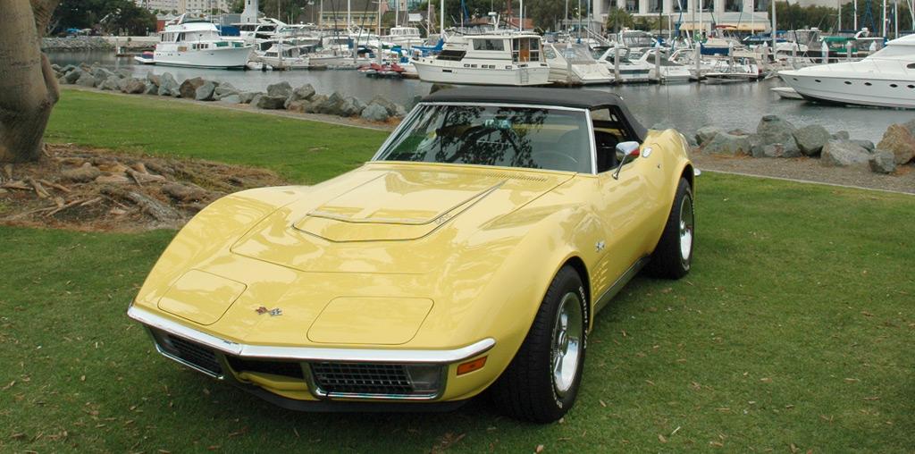 Chevrolet Corvette C Daytone Yellow Dsc A