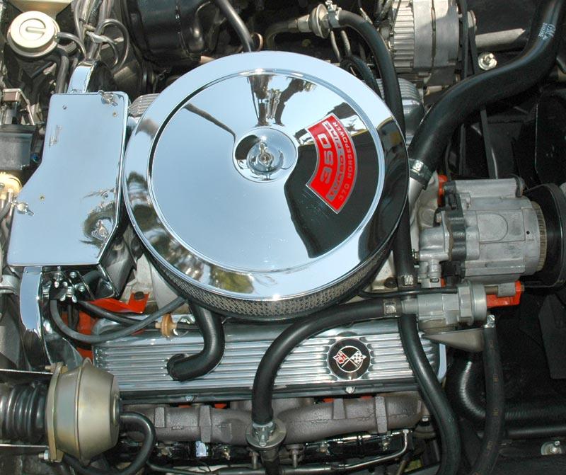 1970 Corvette C3: Front And Fender Grill Upgrades; LT-1