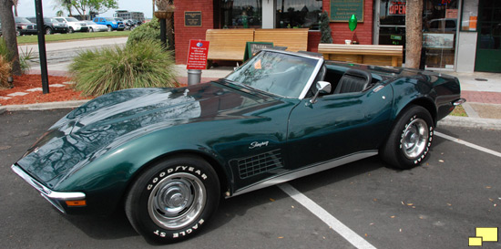 1971 CHevrolet Corvette C3 In Brands Hatch Green