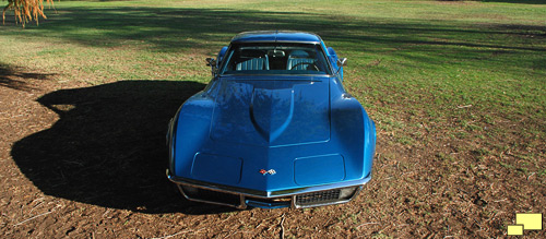 1971 Corvette Coupe in Nassau Blue