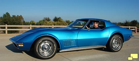 1971 Corvette in Nassau Blue