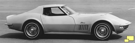 1971 Corvette - Official GM Photo