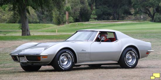 Chevrolet Corvette C Pewter Silver Dsc A S