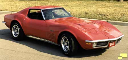 1972 Corvette official GM photo