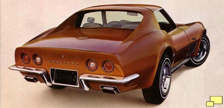 1972 Corvette, brochure illustration