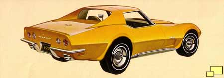 1973 Corvette brochure illustration