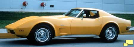1973 Corvette in Corvette Orange Metallic
