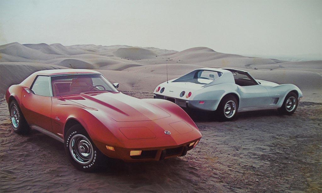 1976 Chevrolet Corvette C3 Minimal Changes
