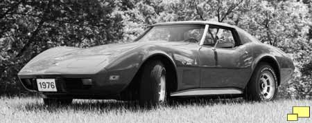 1976 Corvette - Official GM Photo