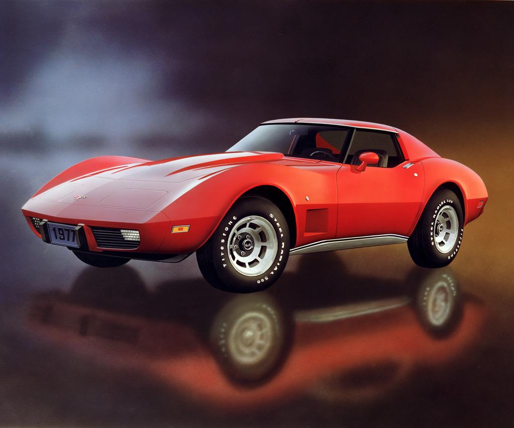 1977 Corvette C3 500 000th Corvette Was Built Minimal