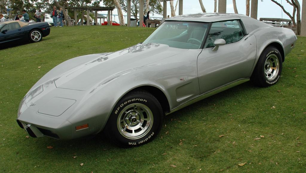 1977 corvette tire size