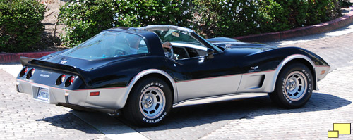 1978 Corvette Silver (25th) anniversary