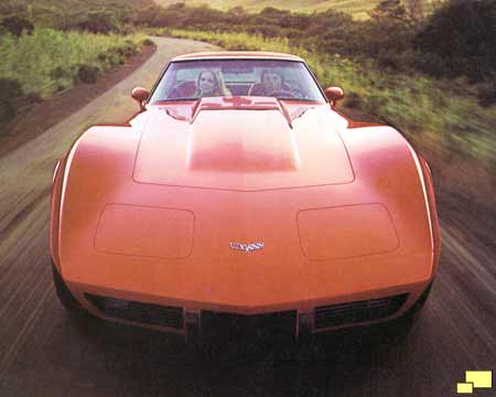 1979 Corvette - brochure cover photo