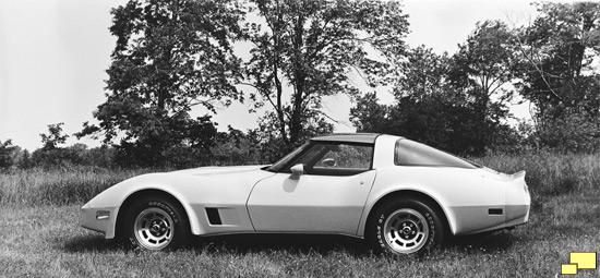 1980 Chevrolet Corvette C3 GM Factory Photograph