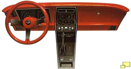1980 Corvette dashboard