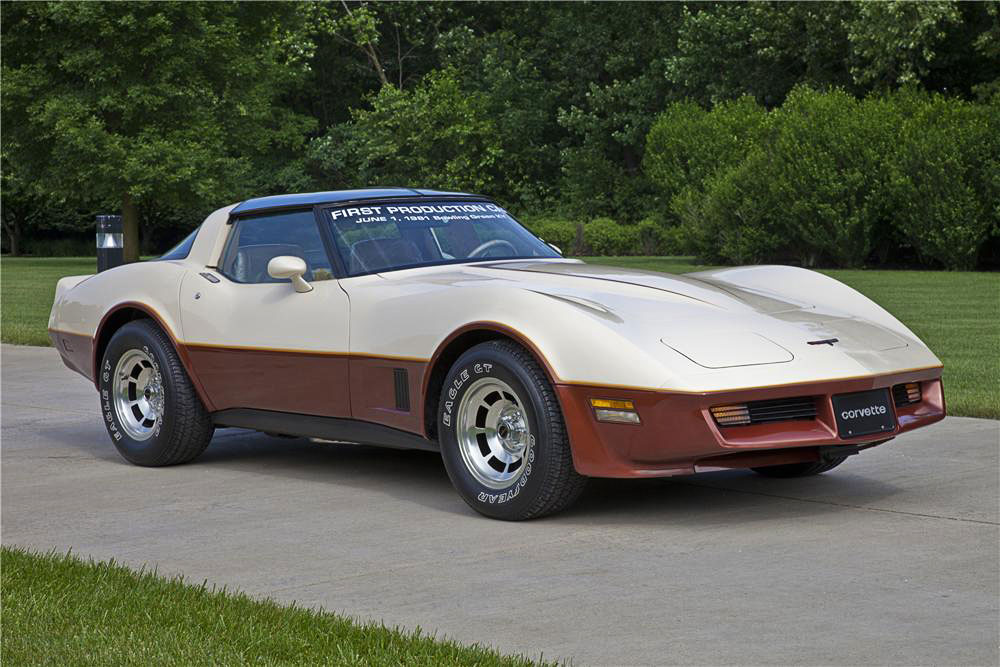 1981 Corvette C3 Production Moves To Bowling Green Ky