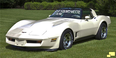 1981 Corvette, the last one manufactured at the St. Louis MO facility