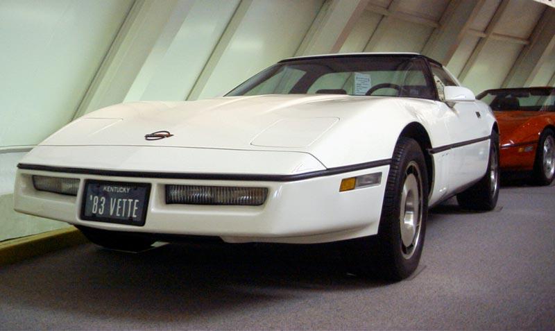 corvette 1983 c4 museum chevrolet chevy national 1958