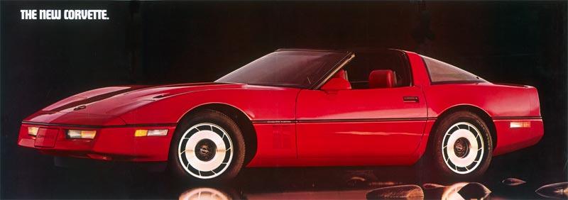 1984 Corvette C4 Headlight Interior And Instrumentation
