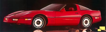 1984 Corvette C4 brochure illustration