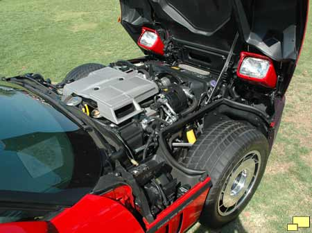 1984 Corvette engine access