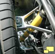 1984 Corvette front suspension access