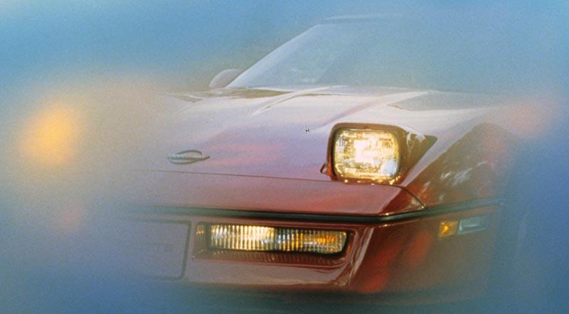 1984 C4 Corvette >> 1984 Corvette C4: Headlight, Interior and Instrumentation Details