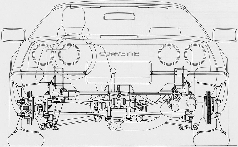 1974842 C6 Wiring Diagrams Or Ground Locations besides Bolt Kit Rear Bumper Attaching 30 Pieces 61 62 further Catalog3 further 170923319522 further 1984 Corvette Frame Diagram. on c2 corvette suspension