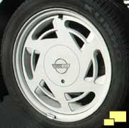 1988 Corvette special 35th anniversary wheel