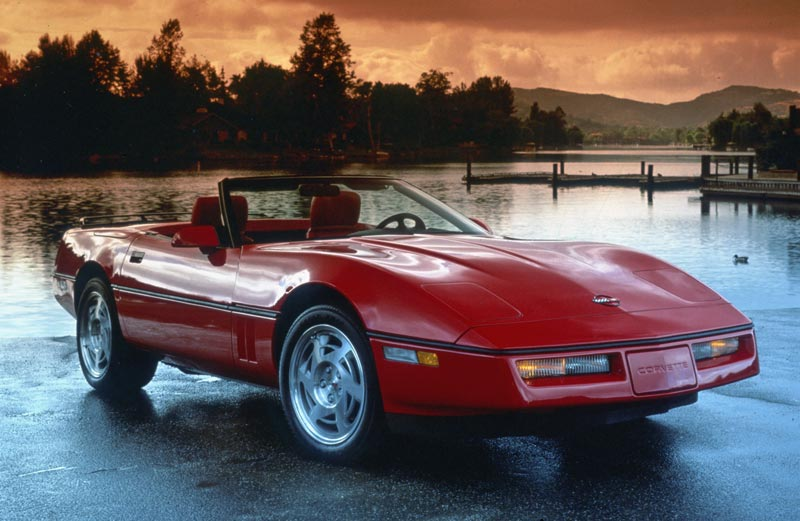 1990 Corvette C4 New Interior And Air Bags Introduced