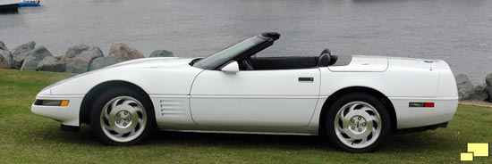 1991 Chevrolet Corvette Convertible in White