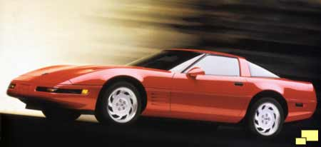 1991 Corvette - brochure illustration