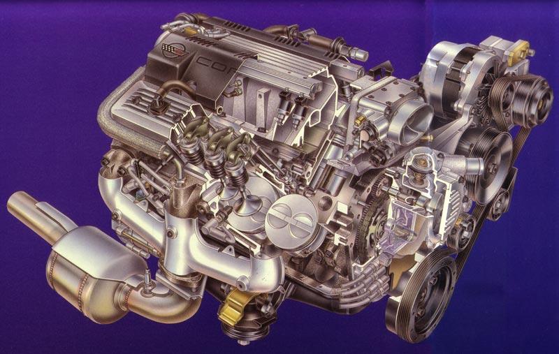 1992 Corvette C4: LT1 Motor is Available