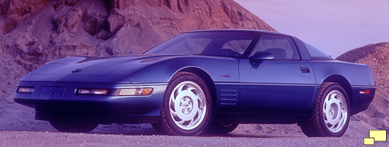 1993 Corvette ZR-1 in Quasar Blue Metallic