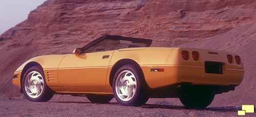 1993 Chevrolet Corvette Convertible, Color: Yellow