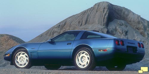 1993 Chevrolet Corvette ZR-1 Color: Quasar Blue Metallic