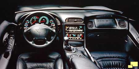 1997 Corvette C5 Styling And Interior Renderings