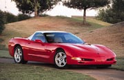 1998 Chevrolet Corvette C5, Motor Trend Car of the Year