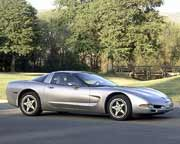 2000 Corvette: GM photograph