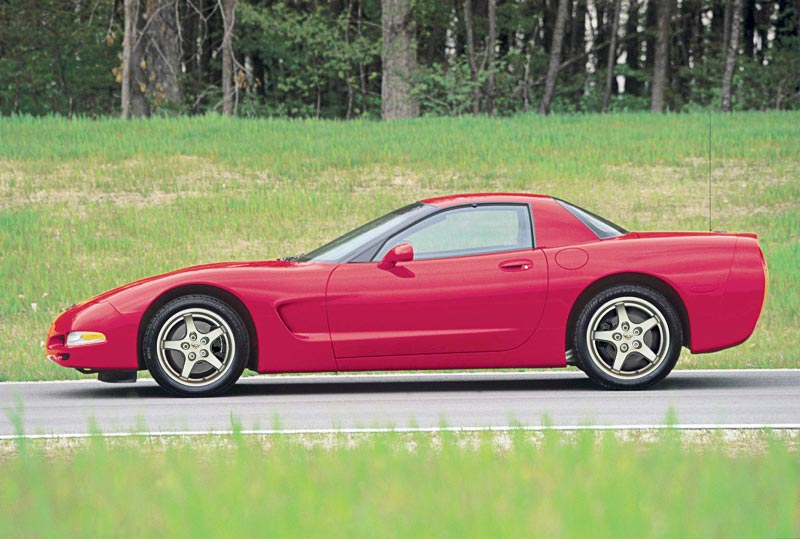 2000 Chevrolet Corvette C5 Minimal Changes