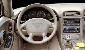 2003 Corvette 50th Anniversary Edition interior